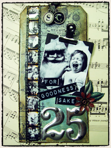 12 Tags of Christmas…{day 9} | Tim Holtz
