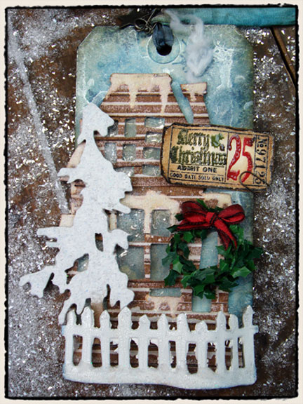 12 Tags Of Christmas Day 1 Tim Holtz