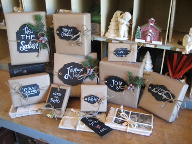 Clever Gift Wrap Ideas