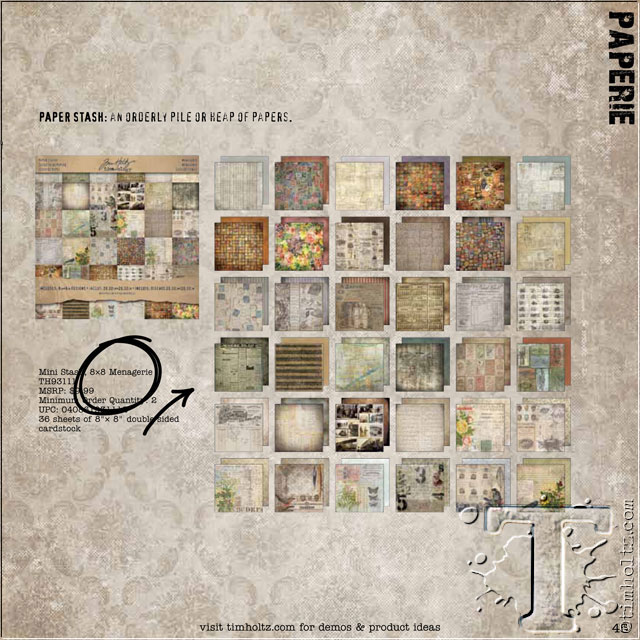 Tim Holtz - Idea-ology TH_CATALOG-45