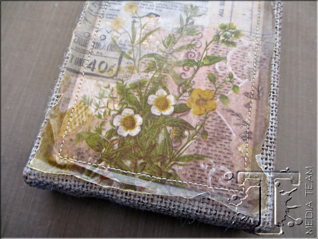 Discover Burlap Panel by Paula Cheney | www.timholtz.com