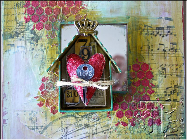Home Mixed Media Decor Tim Holtz