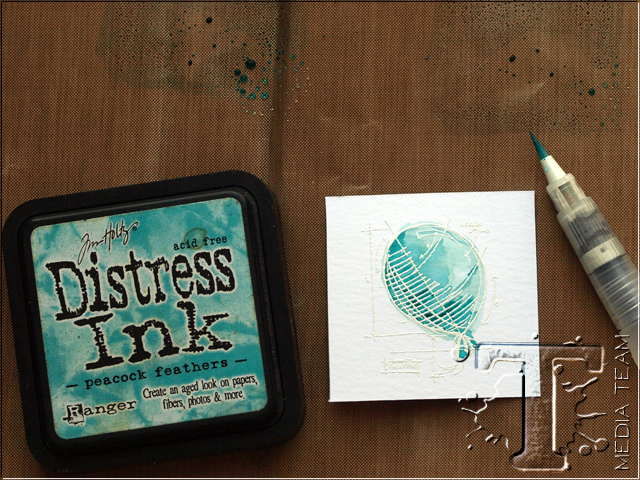 Watercolor Resist by Anna-Karin Evaldsson | www.timholtz.com