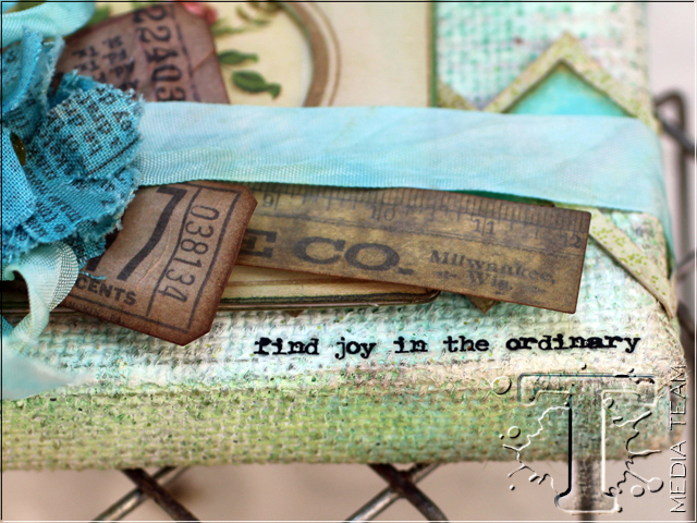 Live Simply Burlap Panel by Tammy Tutterow | www.timholtz.com