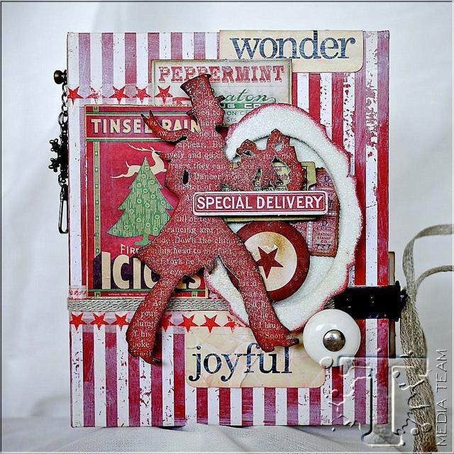 Handmade Christmas Book by Aida Haron | www.timholtz.com