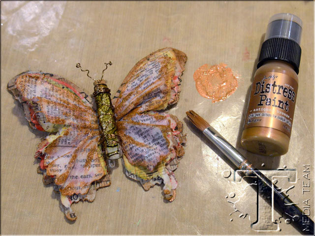 Gypsy Butterfly Brooch by Vicki Boutin   www.timholtz.com