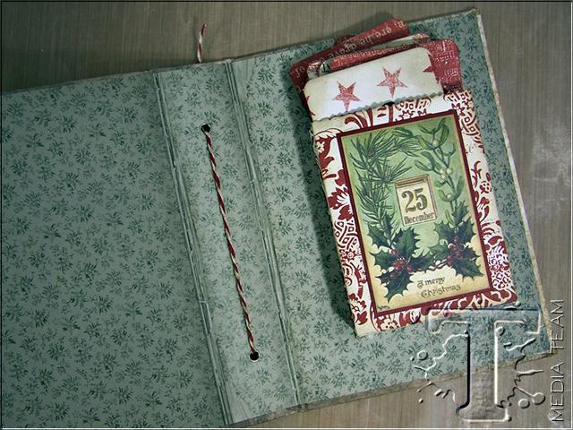 Christmas Countdown Calendar by Jan Hobbins | www.timholtz.com