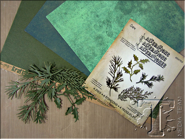 Papers From Tim Holtz