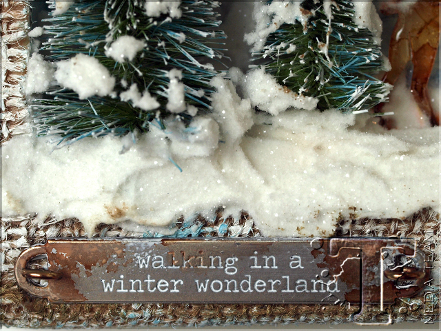 Winter Scene Shadowbox by Anna-Karin Evaldsson | www.timholtz.com