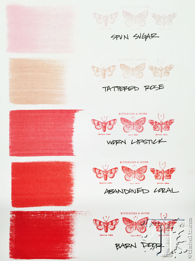 New Distress Q Amp A And Color Swatches Tim Holtz