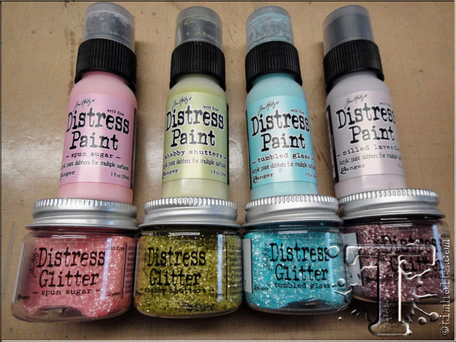 Distress Glitter Eggs by Tim Holtz | www.timholtz.com