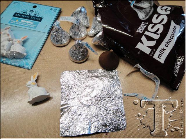 Faux Chocolate Bunnies by Tim Holtz | www.timholtz.com