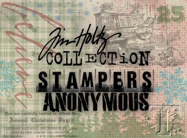 sneak peek: stampers anonymous christmas… | Tim Holtz