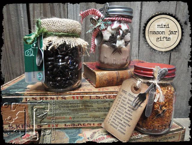 Mini Mason Jar Gift Ideas…