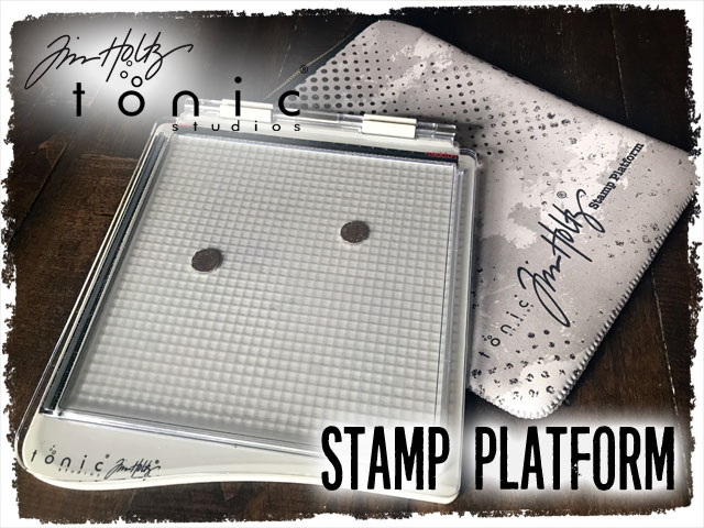 Tim Holtz Stamping Platform Now Available