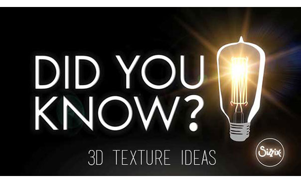 did you know? 3D texture fade techniques: