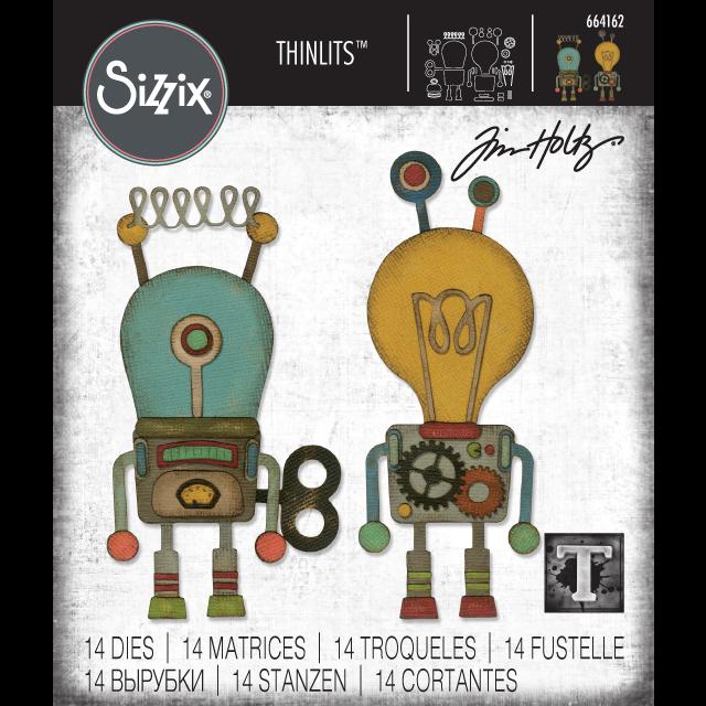 2019 sizzix chapter 1: | Tim Holtz