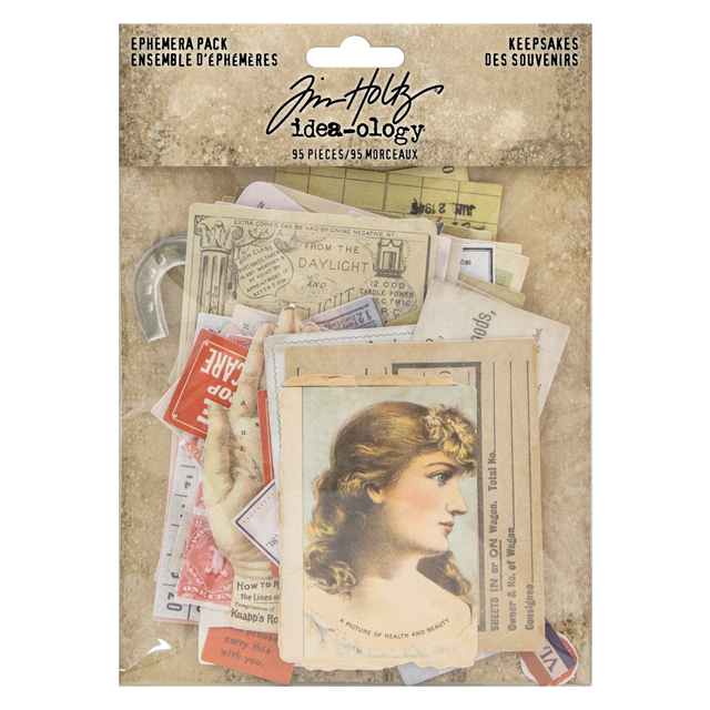 Tim Holtz Idea-ology Collection Mini Pins TH93790 2019