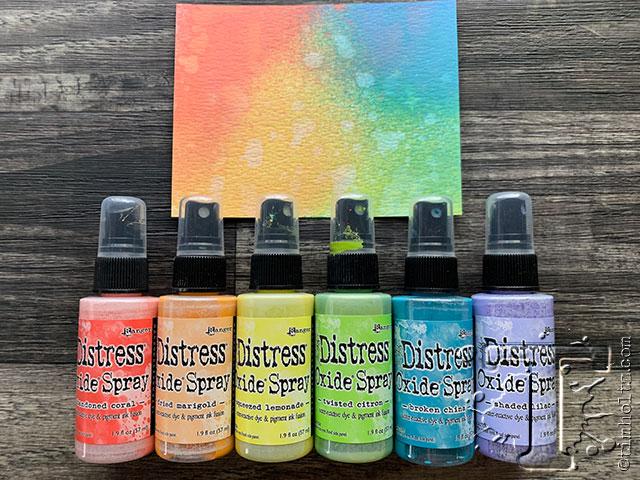 12 New Distress Oxide Sprays Tim Holtz