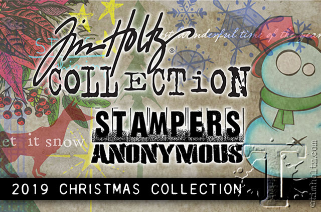 Christmas Stamps 2019.2019 Stampers Anonymous Christmas Tim Holtz