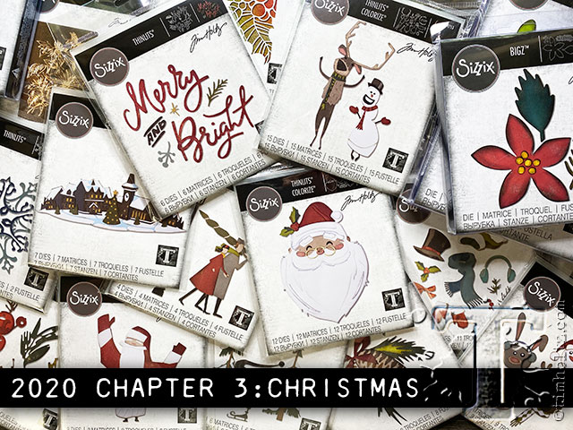 Tim Holtz 2020 Christmas 2020 sizzix chpt.3: christmas | Tim Holtz
